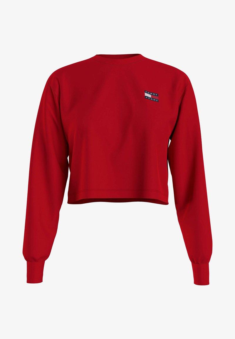 Tommy Jeans - Sweatshirt - red