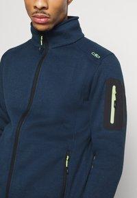 CMP - Fleece jacket - blue ink/yellow fluo - 3