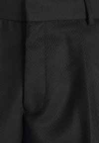Topman - SMART CHECK TAPER - Cargo trousers - black - 5