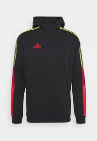 adidas Performance - TIRO HOOD - Jersey con capucha - black - 0
