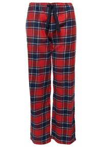 rutiga pyjamasbyxor dam