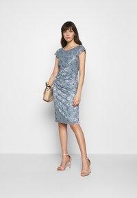 Swing - Cocktail dress / Party dress - azurblau - 2