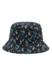 Vans - Hat - (plaid) pink/black/blue - 1