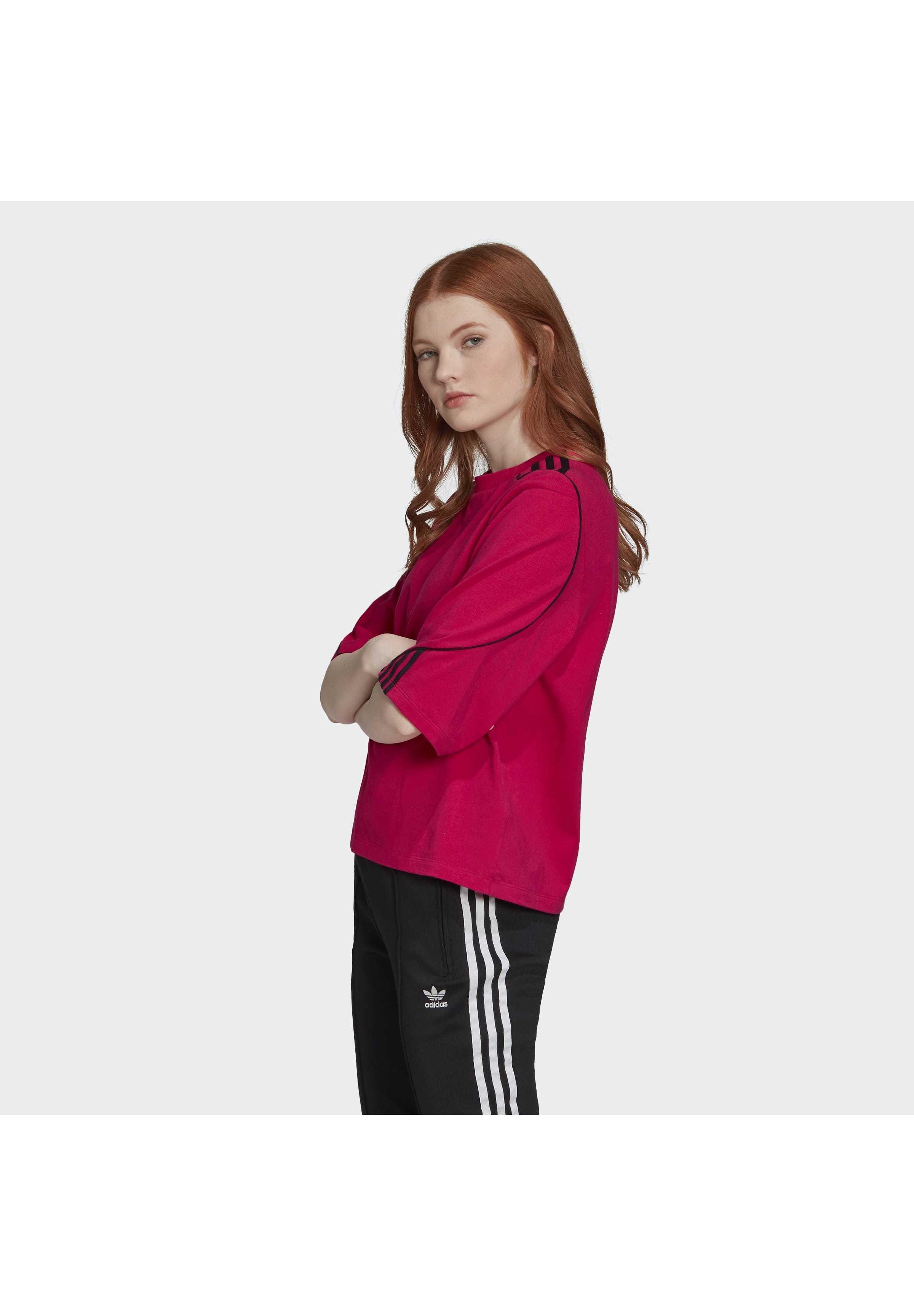 adidas Originals CROP TOP - Topper - red