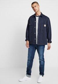 Tommy Jeans - RAGLAN TEE - Long sleeved top - dark blue - 1