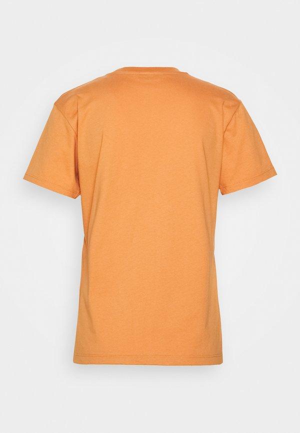 Holzweiler SUZANA TEE - T-shirt z nadrukiem - orange Kolor jednolity Odzież Damska OLRF AF 4