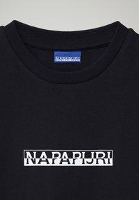 Napapijri - S-BOX  - Print T-shirt - blu marine - 2