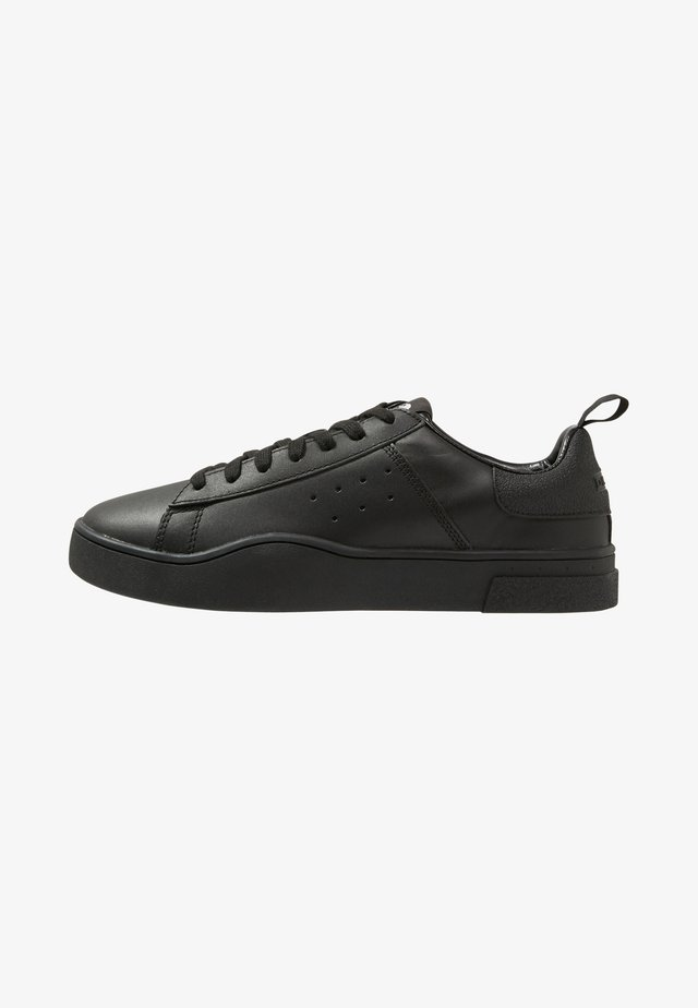 S-CLEVER LOW - Sneakersy niskie - black
