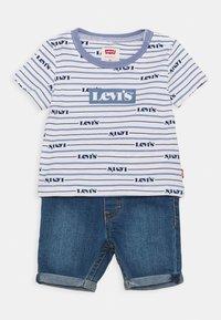 Levi's® - TEE SET - T-shirt imprimé - colony blue - 0
