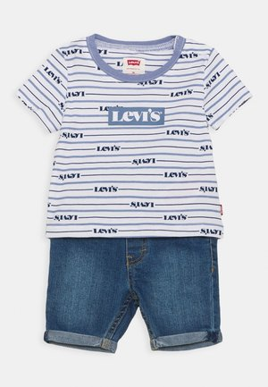 TEE SET - T-shirt con stampa - colony blue