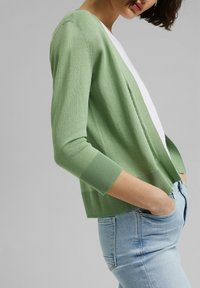 Esprit - CARDIGAN - Cardigan - leaf green - 3