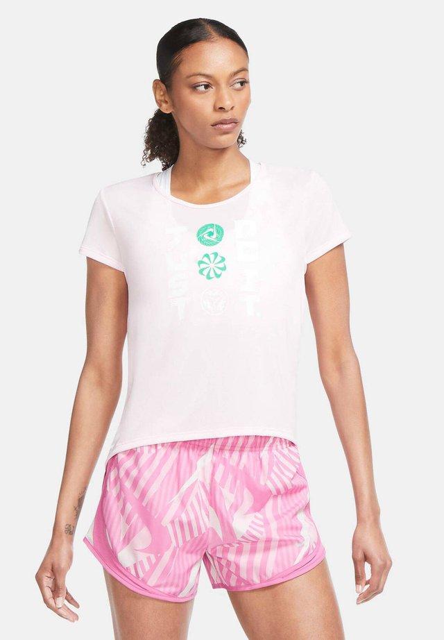 ICON CLASH - Print T-shirt - rosa