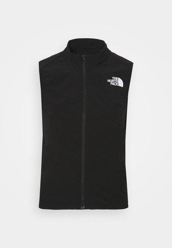 SUNRISER VEST - Waistcoat - black