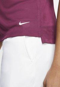 Nike Golf - DRY VICTORY - Sports shirt - villain red/white - 5