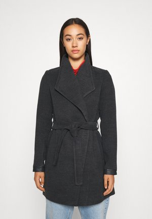 VMCALASISSEL JACKET - Manteau court - dark grey melange