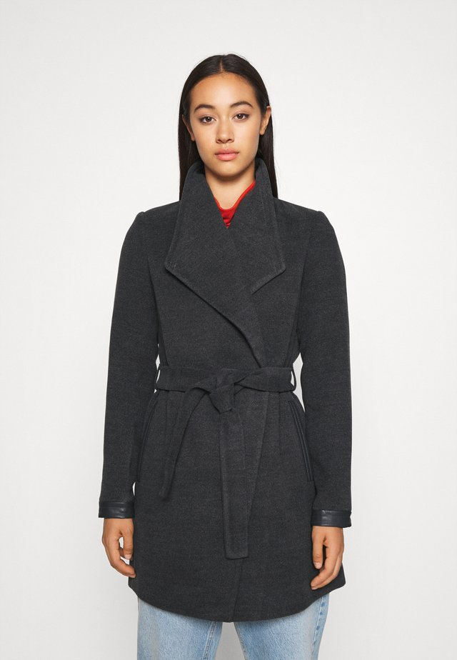 VMCALASISSEL JACKET - Short coat - dark grey melange