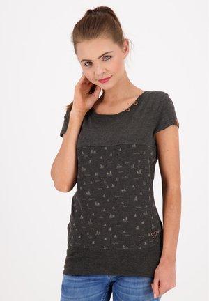 CORAAK - Print T-shirt - moonless