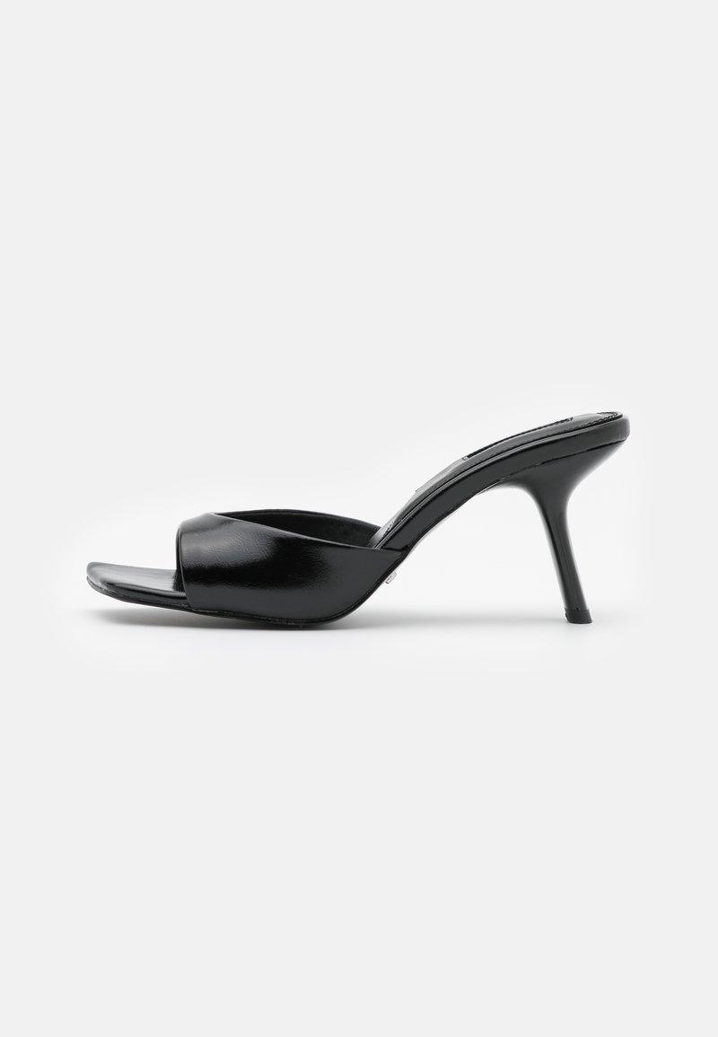 Topshop - NECI MULE - Pantofle na podpatku - black