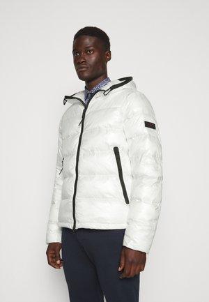 Winterjacke - white
