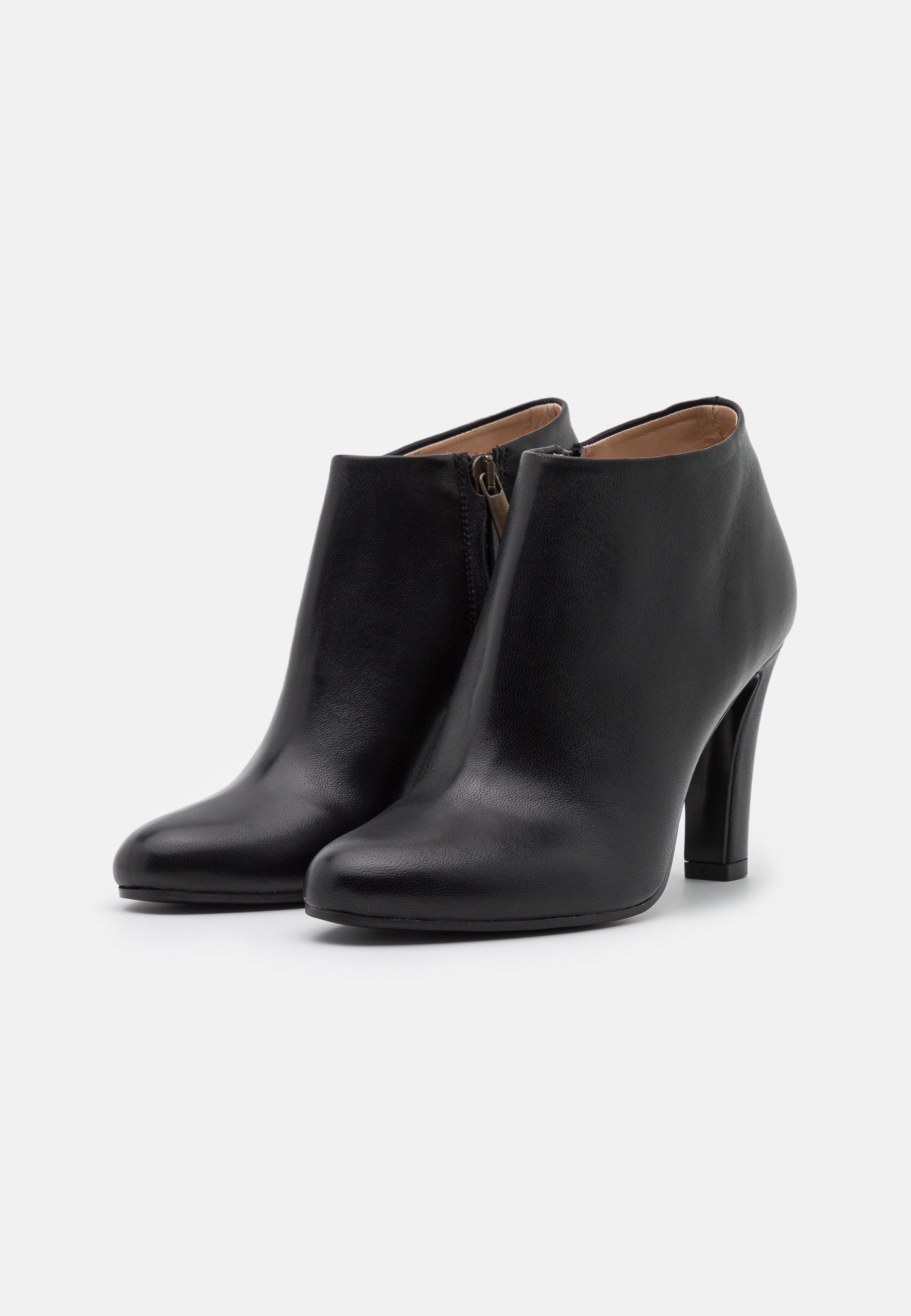 Bianca Di High Heel Stiefelette nero/schwarz