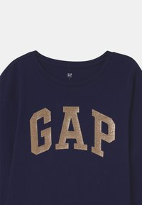 GAP - GIRL VALUE LOGO - Top sdlouhým rukávem - navy uniform - 2