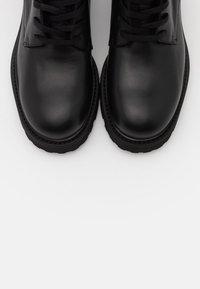 Filippa K - KRISHA LACED BOOT - Lace-up boots - black - 6