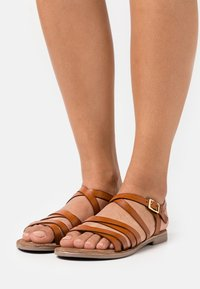 Lazamani - Sandals - tan - 0