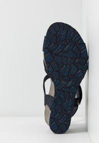 Panama Jack - VIERI BASICS - Sandály na platformě - dunkelblau - 6