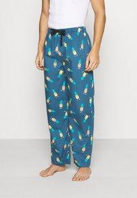 Lousy Livin Underwear - PANT ANANAS - Pyjama bottoms - blue dive - 0