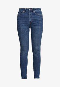 Monki - OKI NEW - Jeansy Skinny Fit - blue medium dusty - 4
