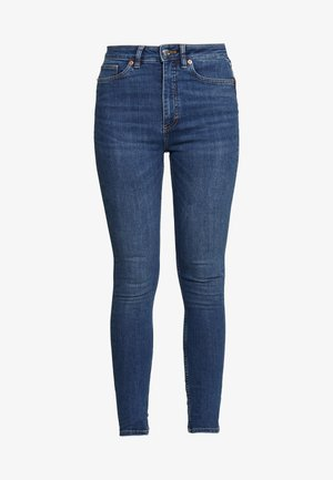OKI NEW - Skinny džíny - blue medium dusty