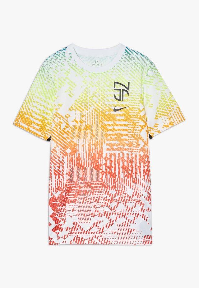 NEYMAR DRY - T-shirt sportiva - white/black