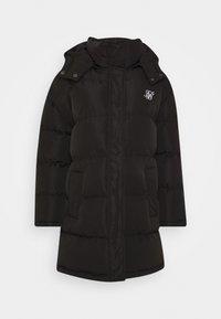 LONGLINE PADDED - Winter coat - black