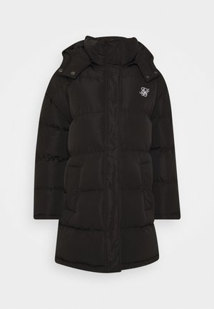 LONGLINE PADDED - Winter coat - black
