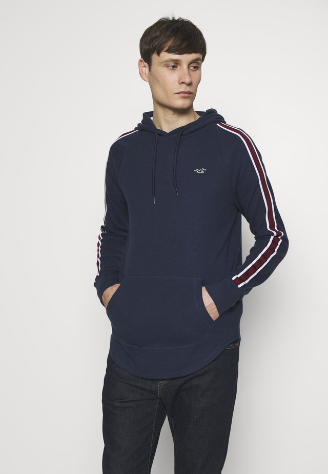 TAPED HOODS  - Sweat à capuche - navy