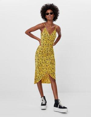 Robe d'été - mustard yellow