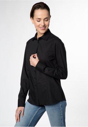 MODERN CLASSIC - Button-down blouse - black