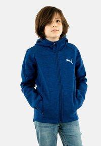 Puma - Zip-up hoodie - bleu - 1