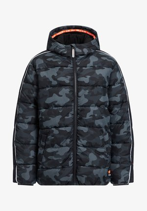 MIT CAMOUFLAGEPRINT - Winter jacket - dark grey