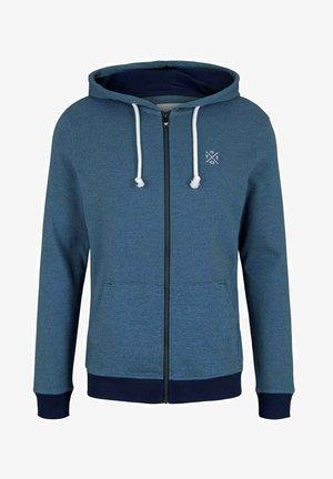 Zip-up sweatshirt - aquarius blue yd stripe