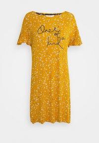 Marks & Spencer London - SLOGAN - Noční košile - ochre - 0