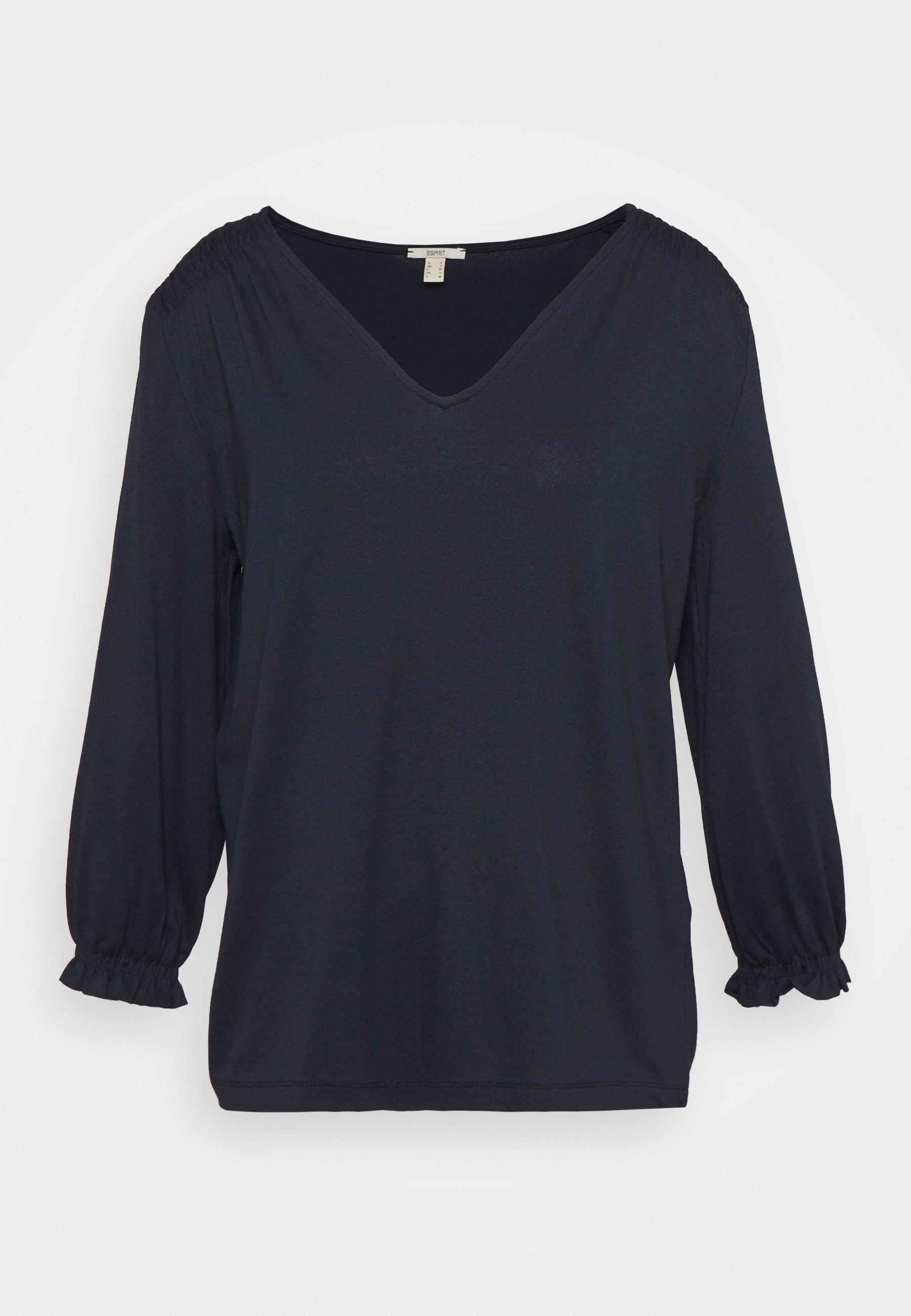 Women SMOCK TEE - Long sleeved top