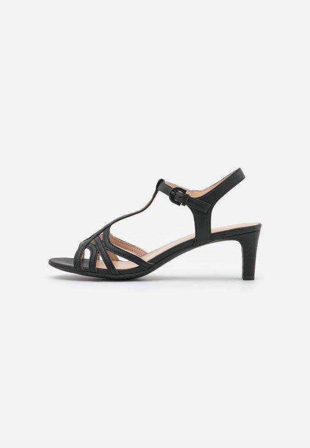 OLEA BASIC - Sandalias - black