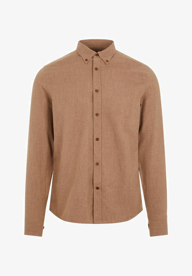 Chemise - camel brown