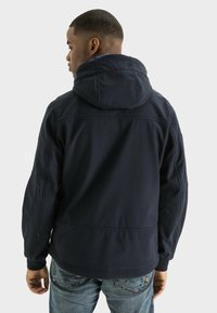 camel active - MIT STEHKRAGEN UND KAPUZE - Summer jacket - navy - 2