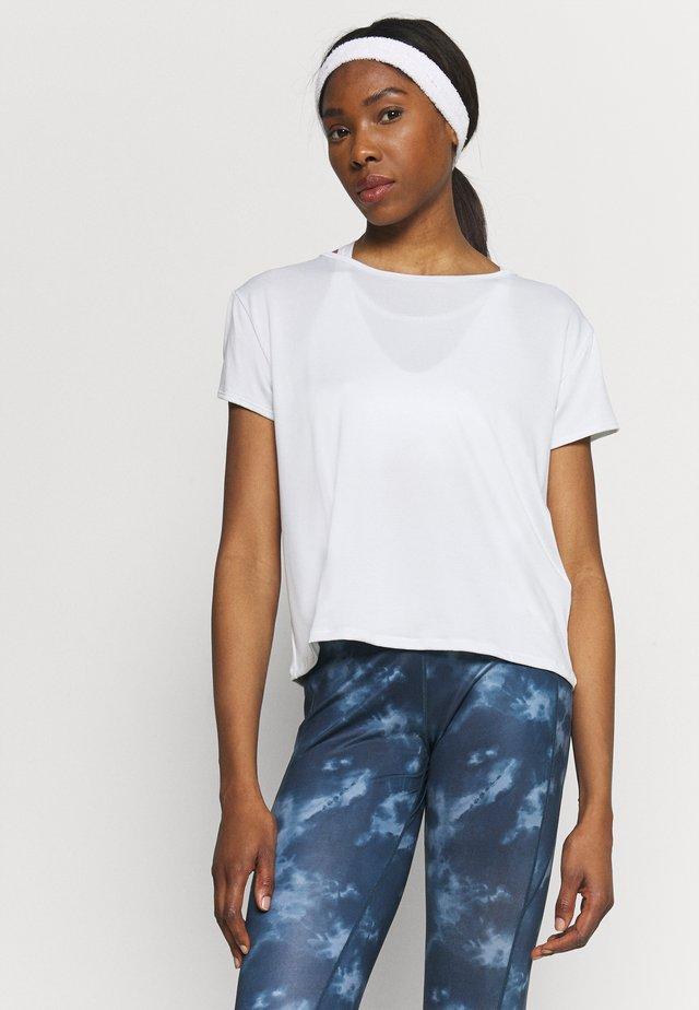 TECH VENT - T-shirt basic - white