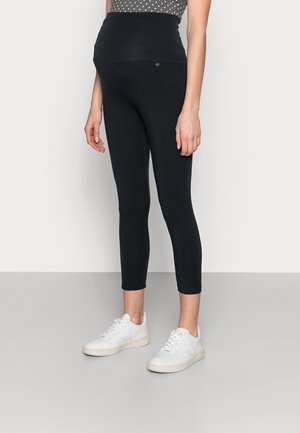 CROPPED - Leggings - navy