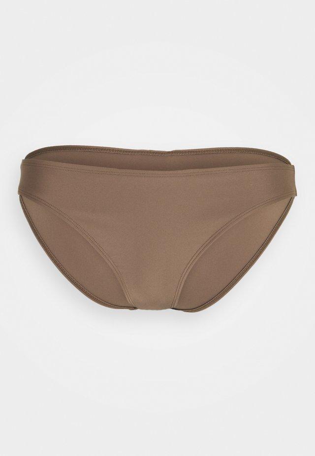 SHINY BRIEF - Spodní díl bikin - nougat brown