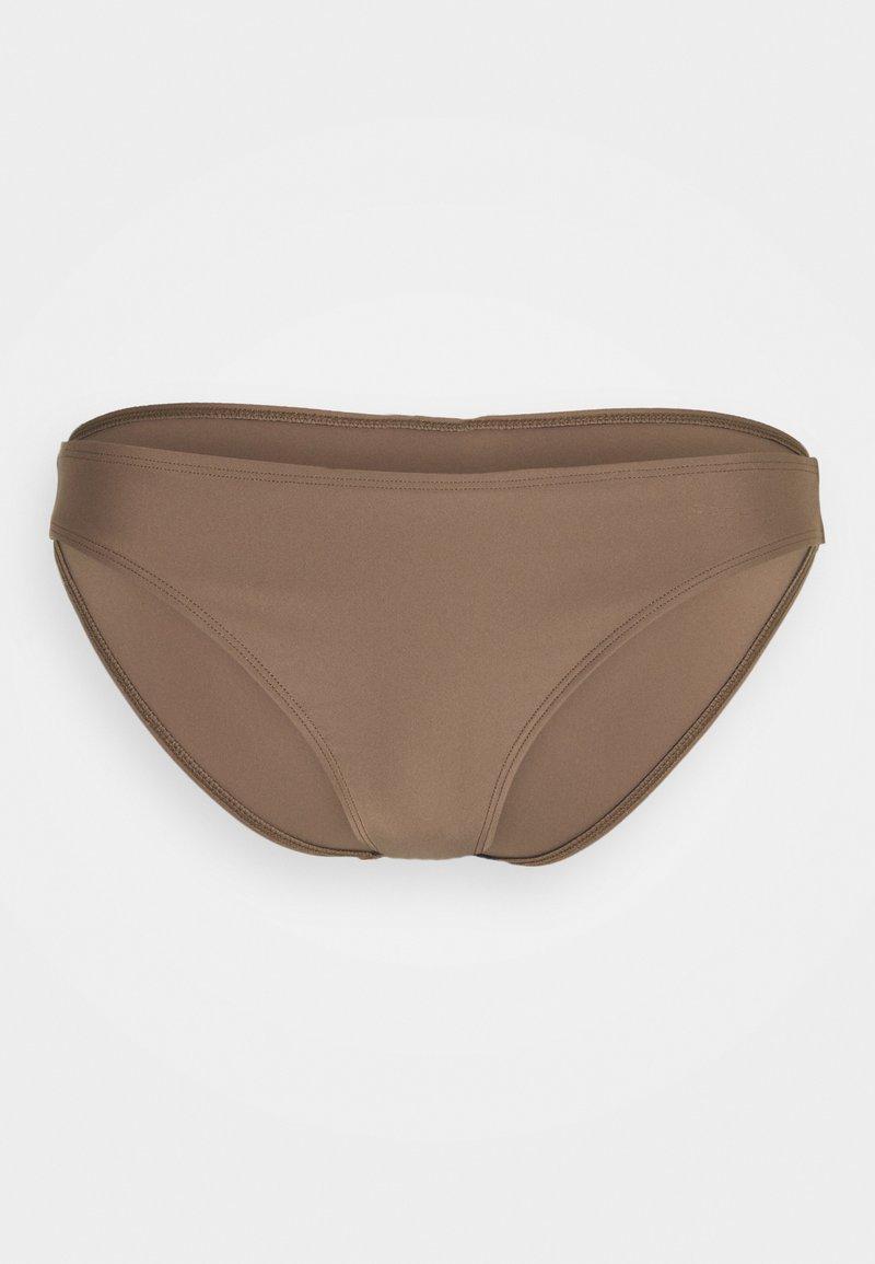 Filippa K - SHINY BRIEF - Spodní díl bikin - nougat brown