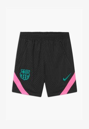 FC BARCELONA UNISEX - Sports shorts - black/pink beam/new green